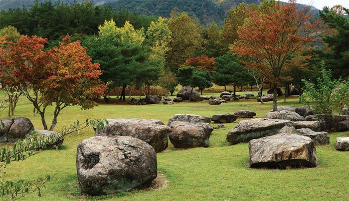 Dolmen Park in Suncheon, Jeollanam-do