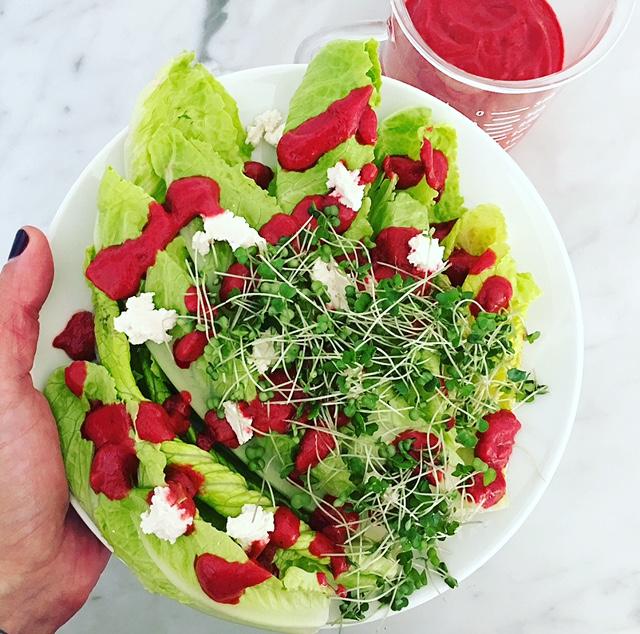 best ever beet salad vinaigrette by kalejunkie