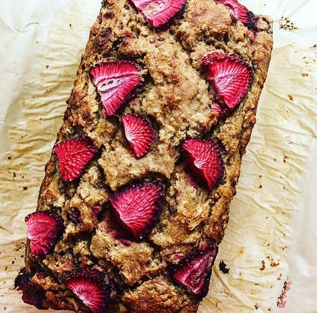 One bowl strawberry banana bread by kalejunkie