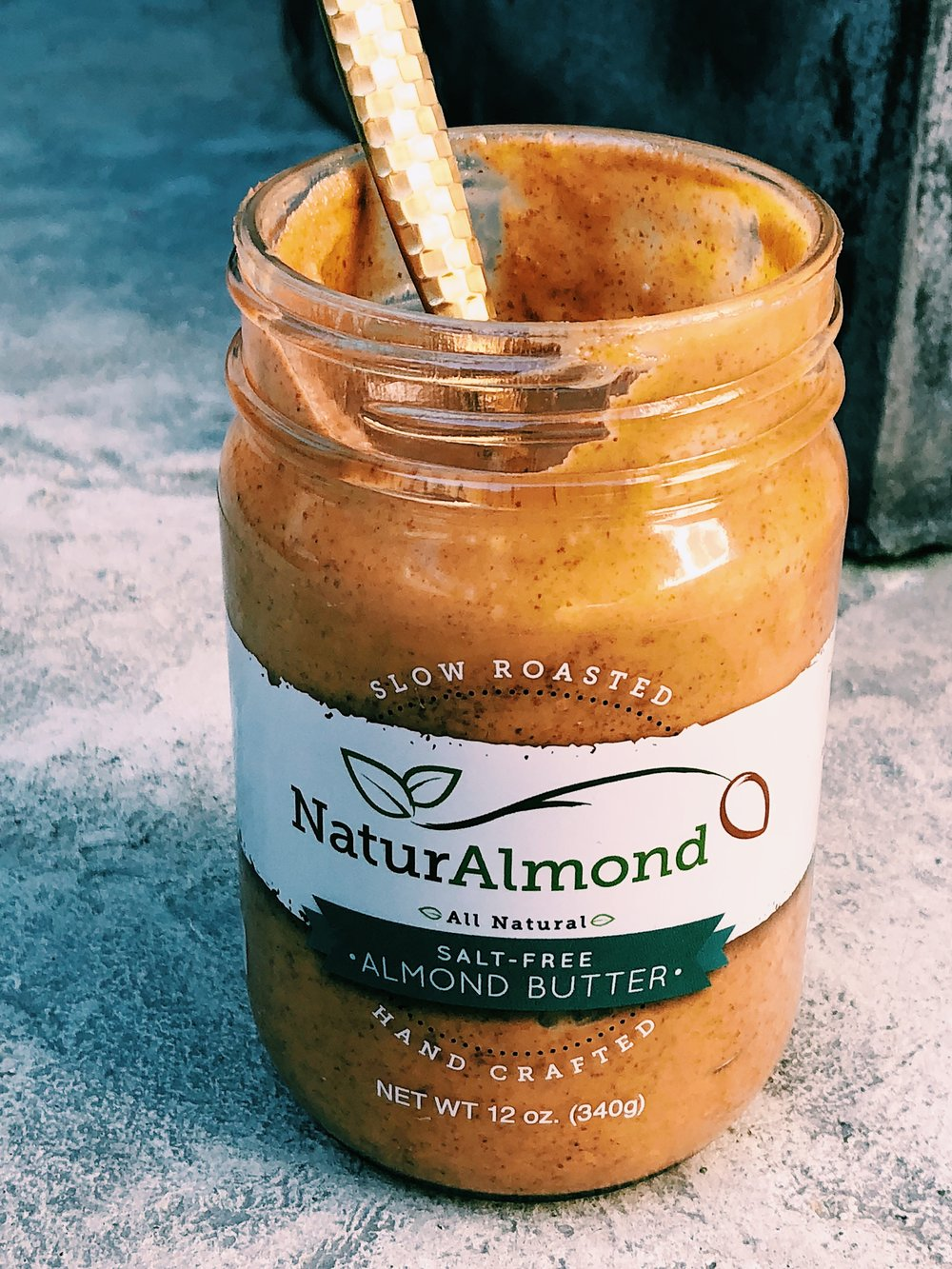Georgia Grinders Almond Butter by Kalejunkie