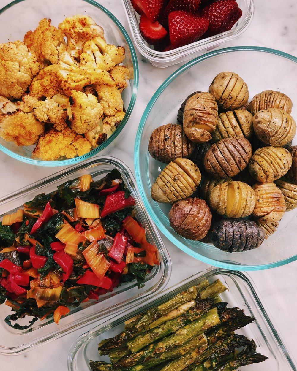 meal prep: the kalejunkie dish