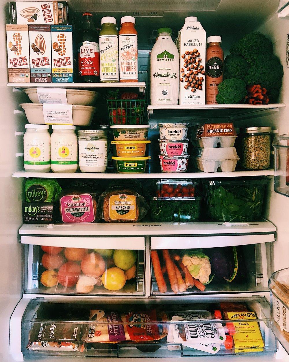 in the kalejunkie fridge by kalejunkie