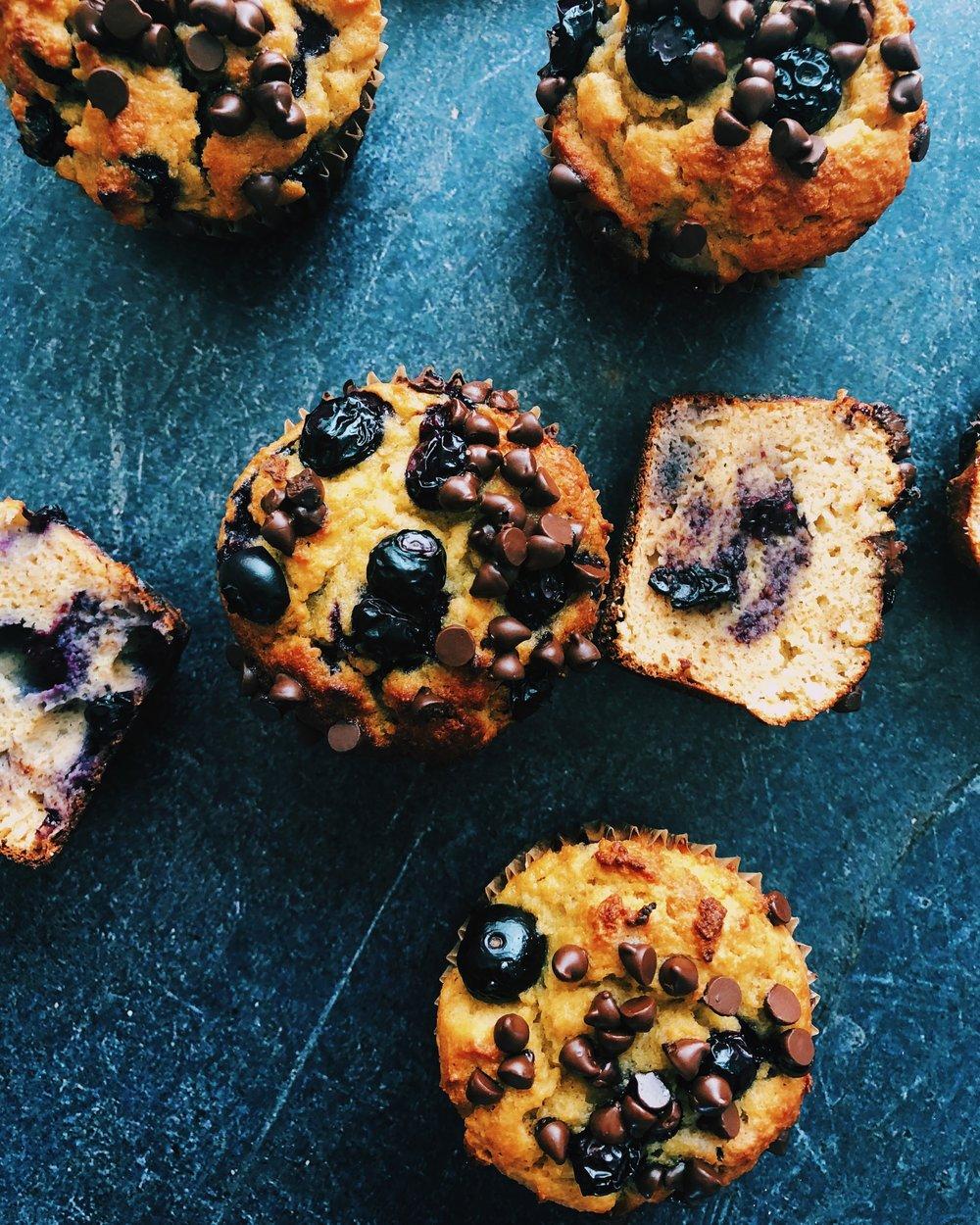 Muffin recipe blueberry chocolate chip