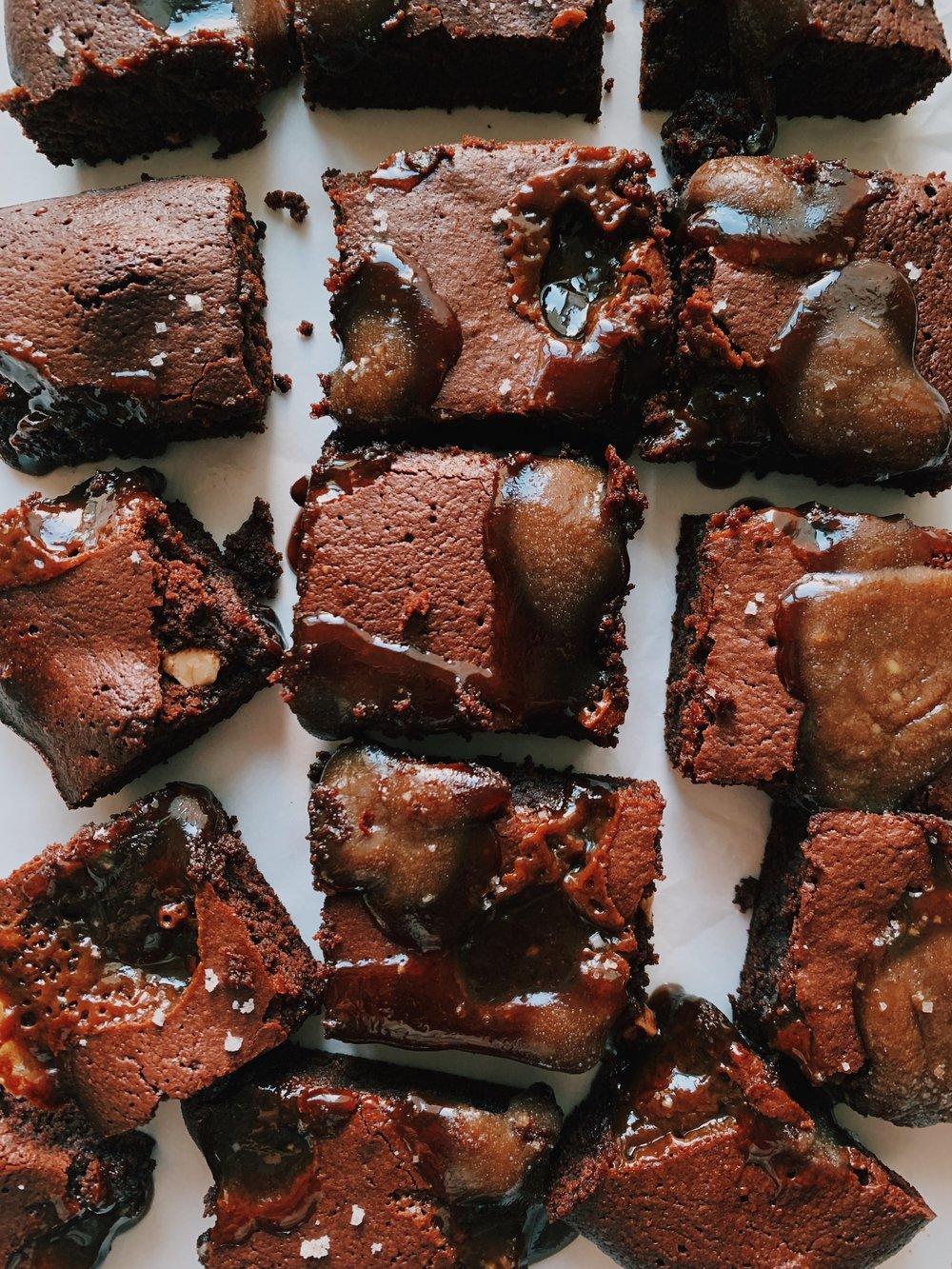 paleo salted caramel brownies by kalejunkie.JPG