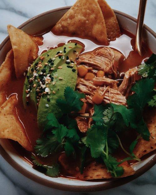 Chicken Tortilla Soup Nicole Modic