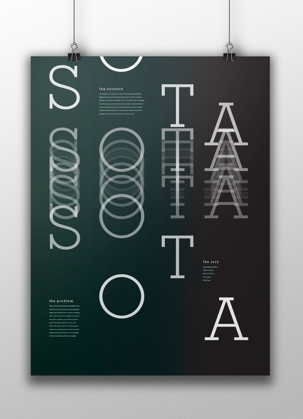 Typographical Poster 1 Mockup