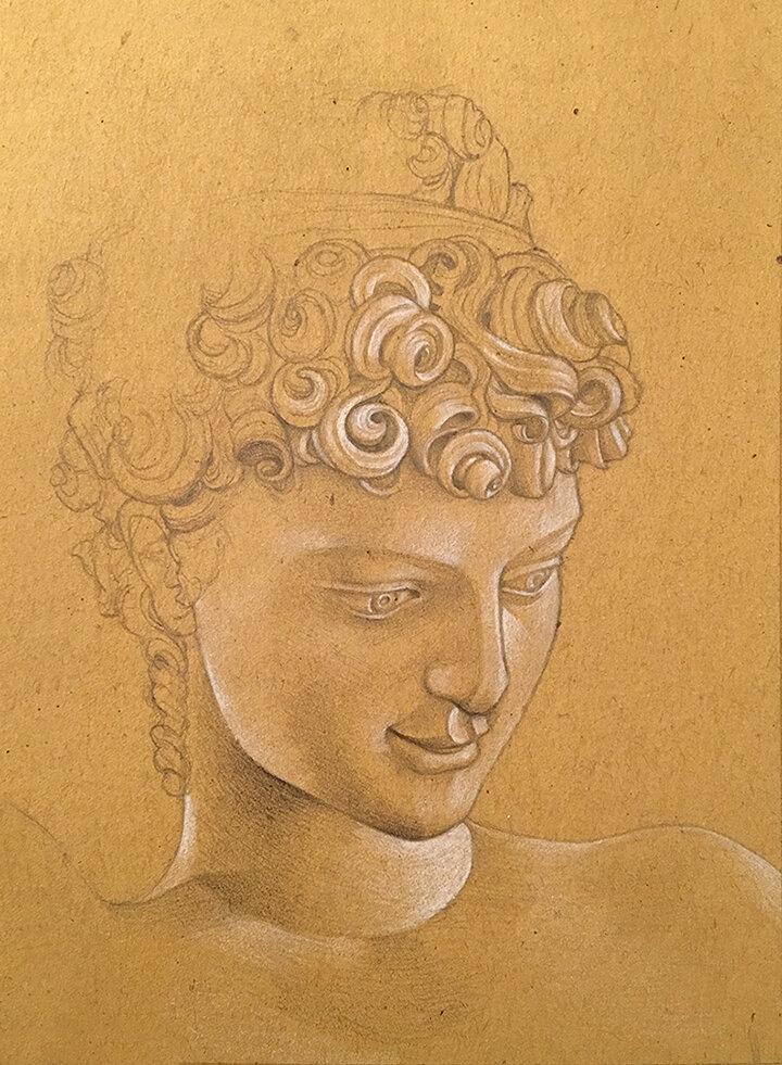 Bargello Sculpture Study