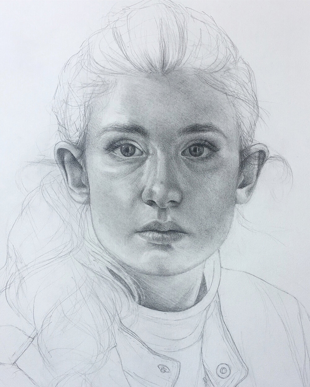 Life-Size Self Portrait (In Progress)