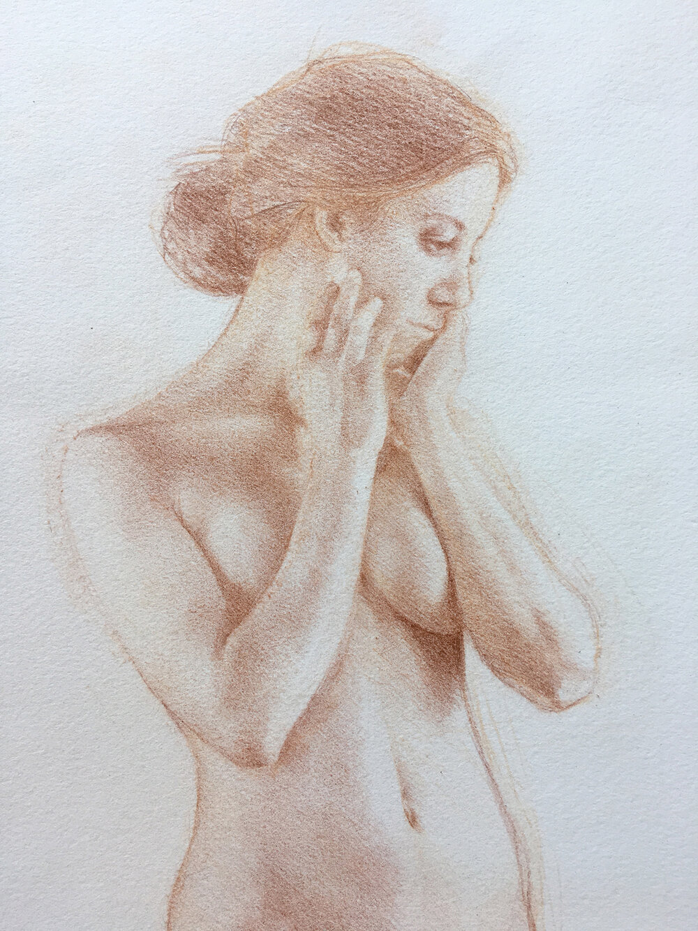 Figure Study (Detail)