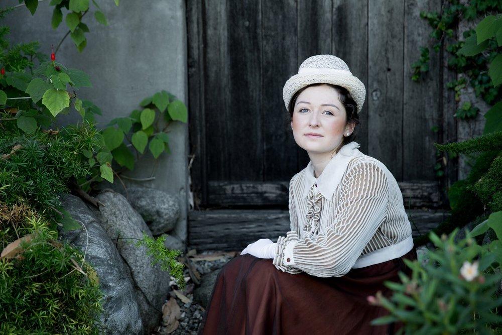 Photoshoot with Pavlina Popovska going back to 1910.