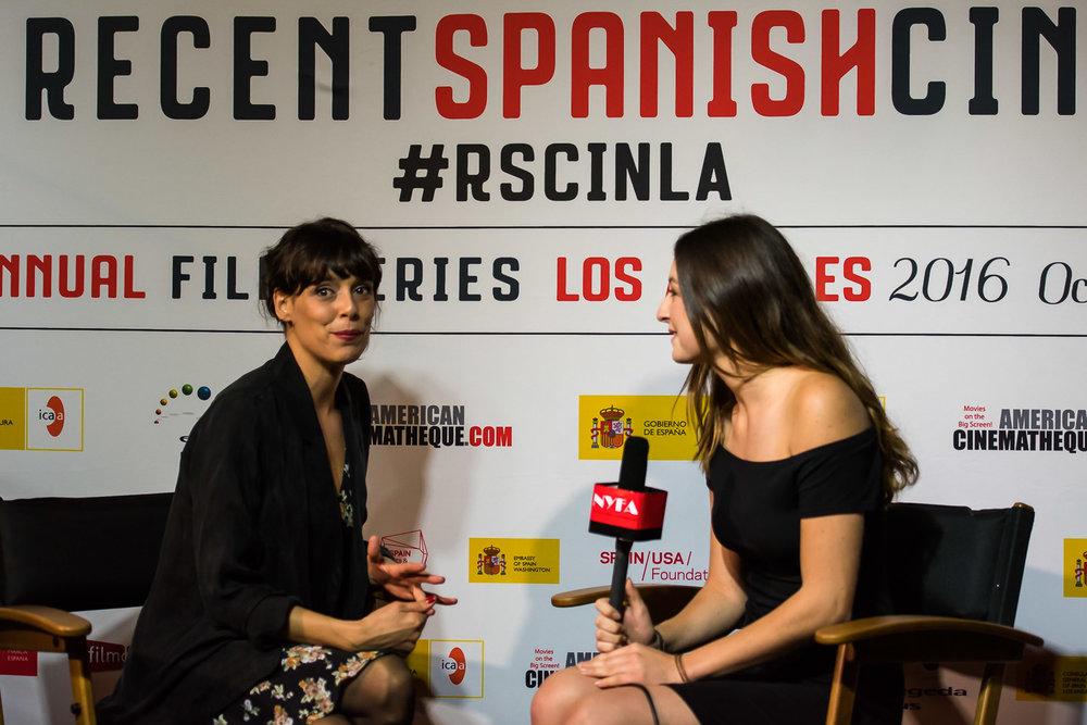 Interview with renown Spanish actress, Belen Cuesta.
