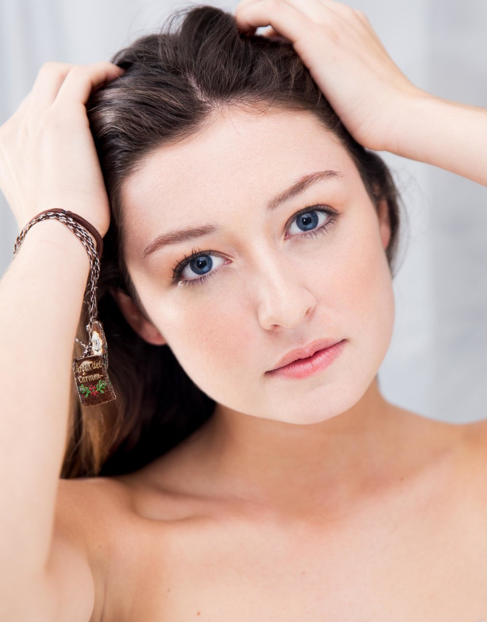 Modeling for Pavlina Popovska. MUA: Tonii Scott.