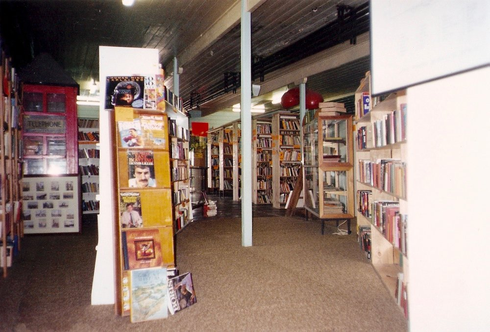Mid-1990s - From cafe entrance