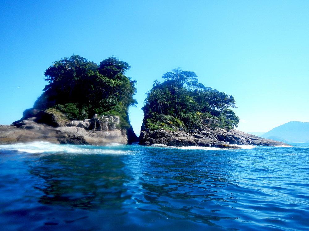 Ilha Rachada - Ubatuba