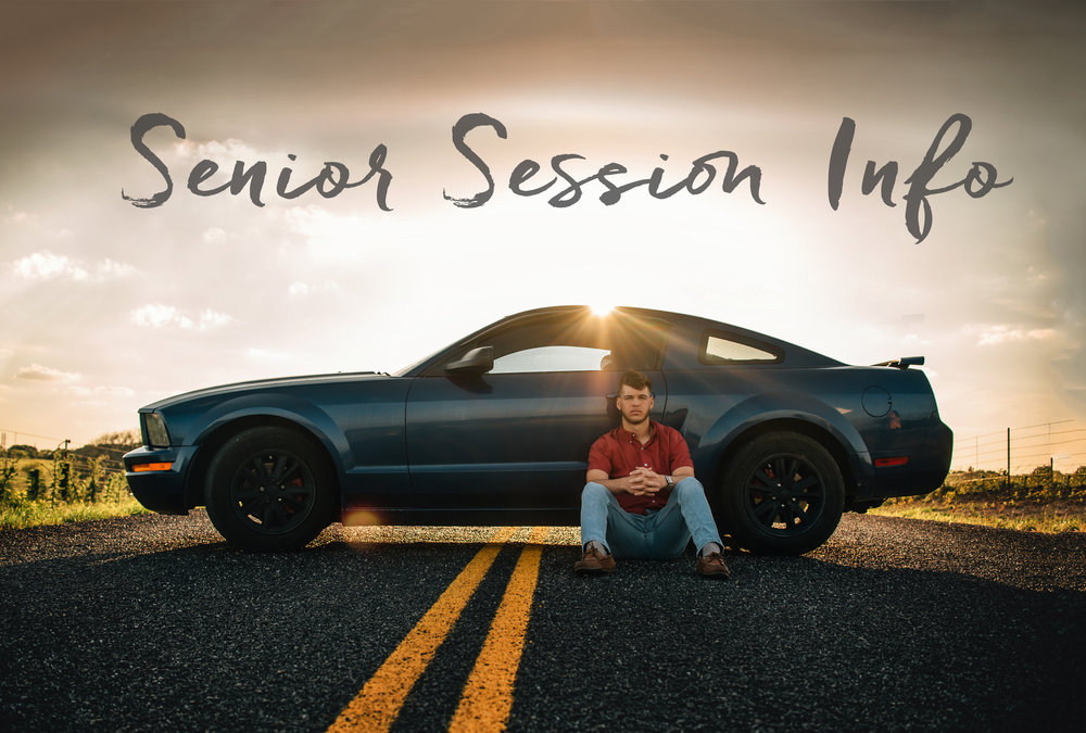 Find all the details for senior sessions here!