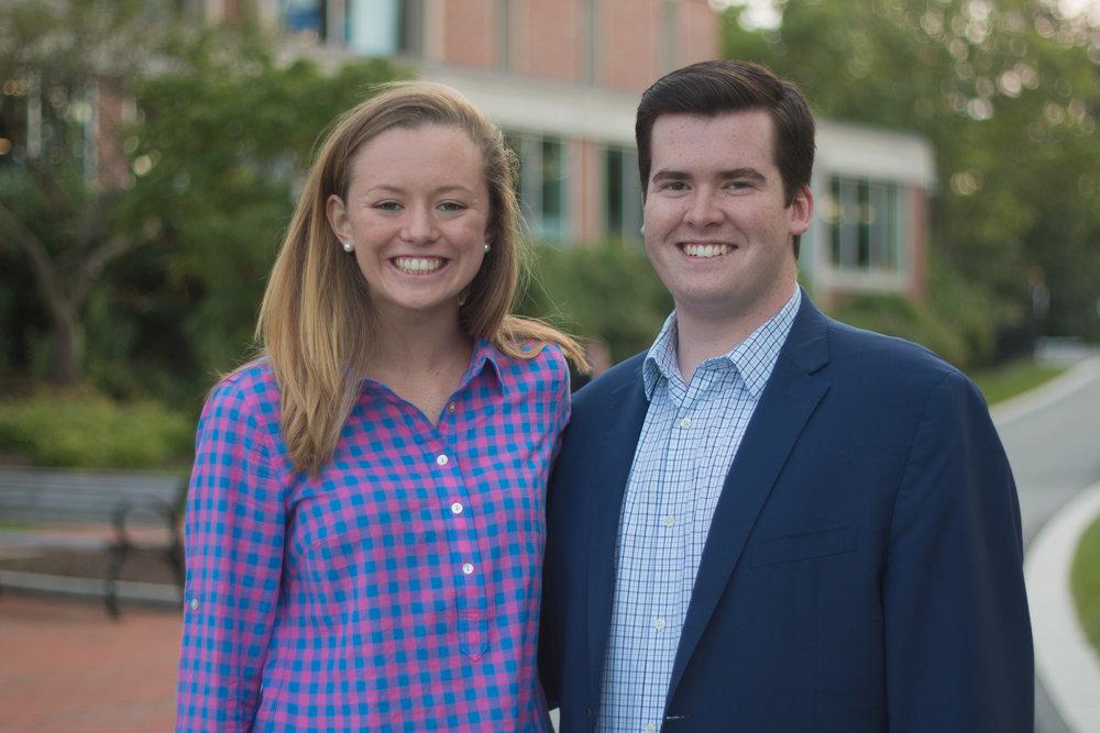 Donnie Stephens '18 and Maggie Scanlon '18 - SGA Co-President.jpg