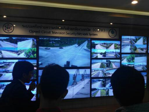 visited closed-circuit television security network system office, map ta phut industrial estate