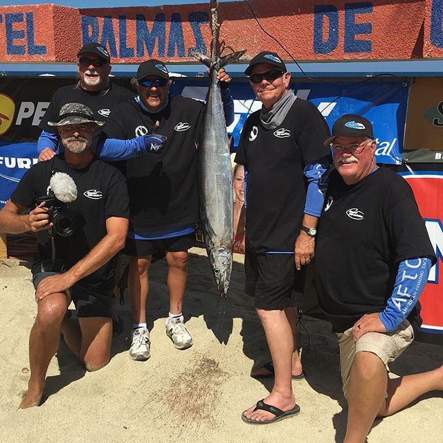 Jack McCulloch and his fellow teammates at the 2nd Annual East Cape Gold Cup Wahoo Tournament @hotelpalmasdecortez. The team snagged 4th place and had an amazing time!