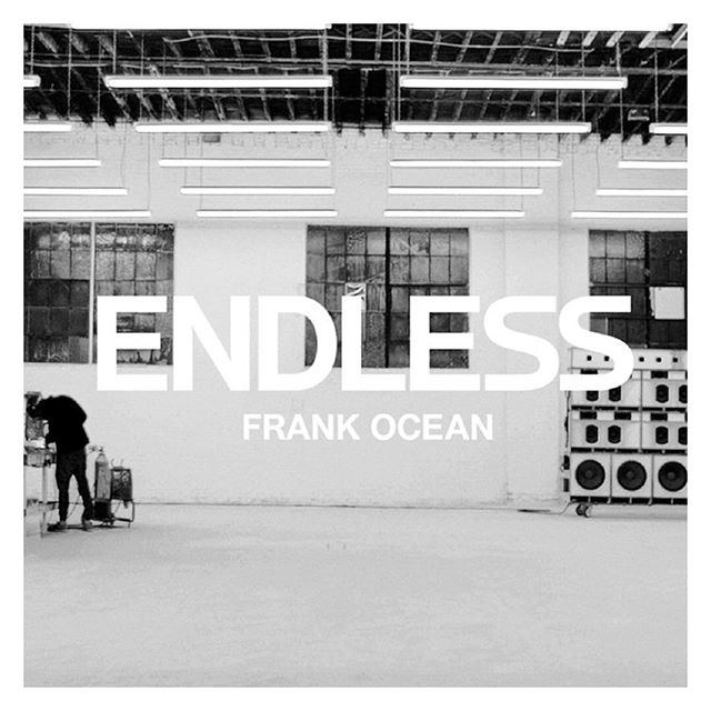Studio Playlist: Endless by Frank Ocean. #frankocean