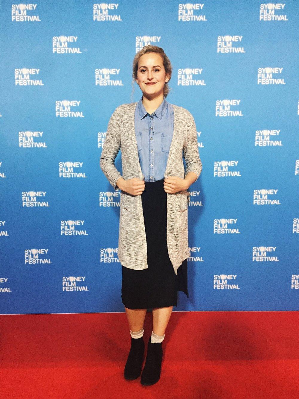 Adelle at Sydney Film Festival 2017