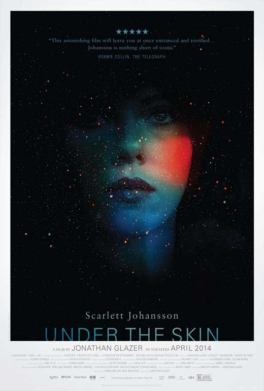 Under the Skin (2014) - Scarlett Johannson drives around the Scottish countryside picking up men…that's the whole plot. I'll try to convince you to watch this by saying that the last scenes of Annihilation are extremely reminiscent of Under the Skin. Creepy, bone-chilling and weirdly beautiful. Plus did I mention Scarlett Johannson, that's reason enough to watch.