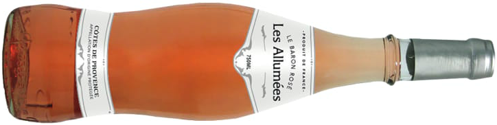 "2014 Le Baron Rosé, 'Les Allumées', Cotes du Provence ""With an extra year or two of ageing, the richness in this wine is beginning to reveal itself. Complex and savoury - an ideal food match"""