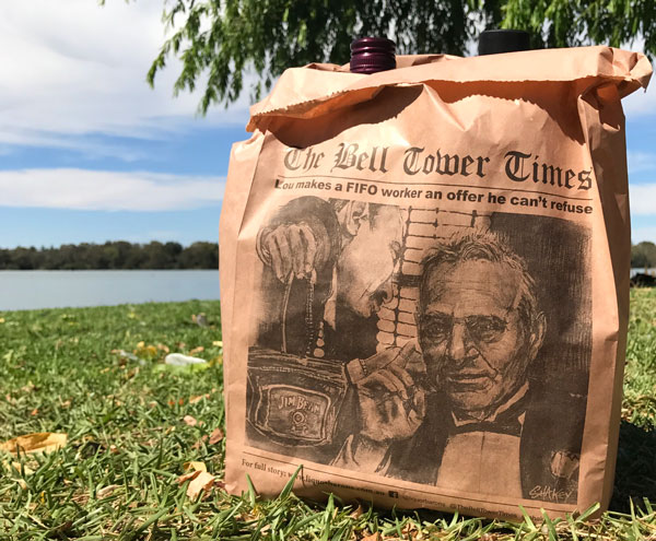 Limited edition paper bags at a Liquor Barons store near you, get yours now!
