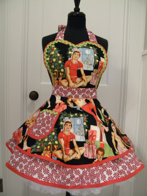 Christmas vintage aprons available from Etsy    here.