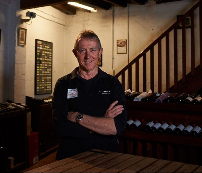 Photo: Steve down at  Swanny Cellars  has been in the trade since the 80's. He literally has ALL the answers.
