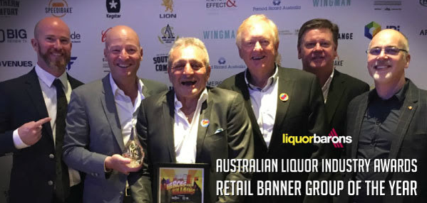 Left to right: Timon (Nedlands), Chris, Lou (Carlisle), Geoff (Swanbourne), Andrew (Duncraig) Rosco (Bayswater) at the ALIA Awards in Sydney last year.