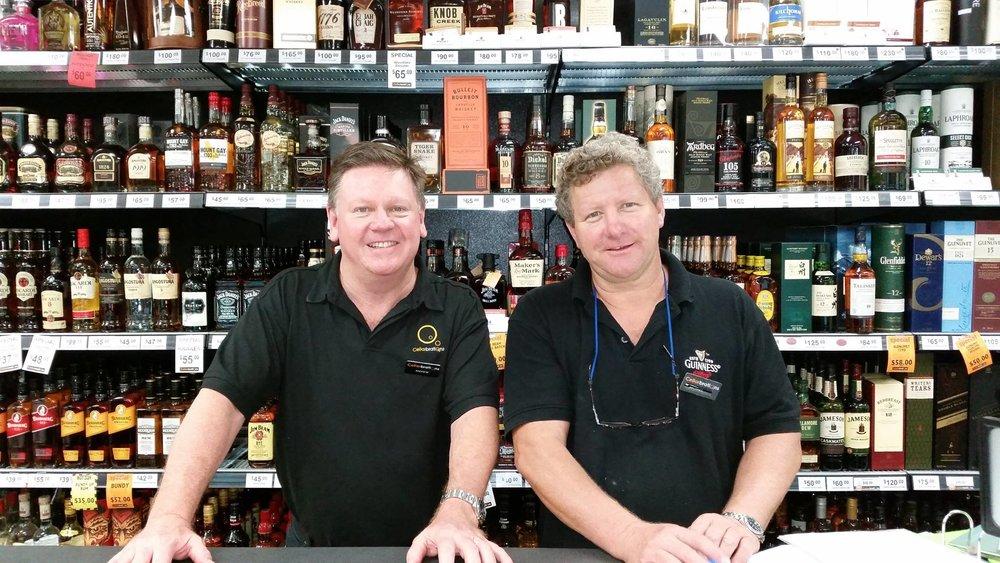 Andrew & Michael over at Liquor Barons Duncraig.