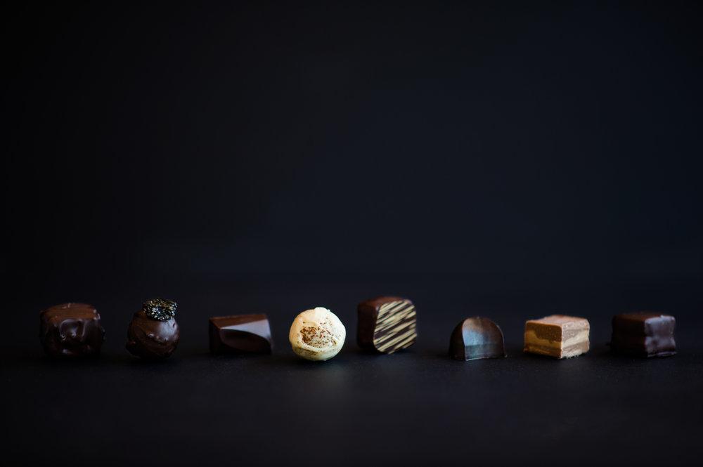 Some of Nadia's Cavalcade chocolate.