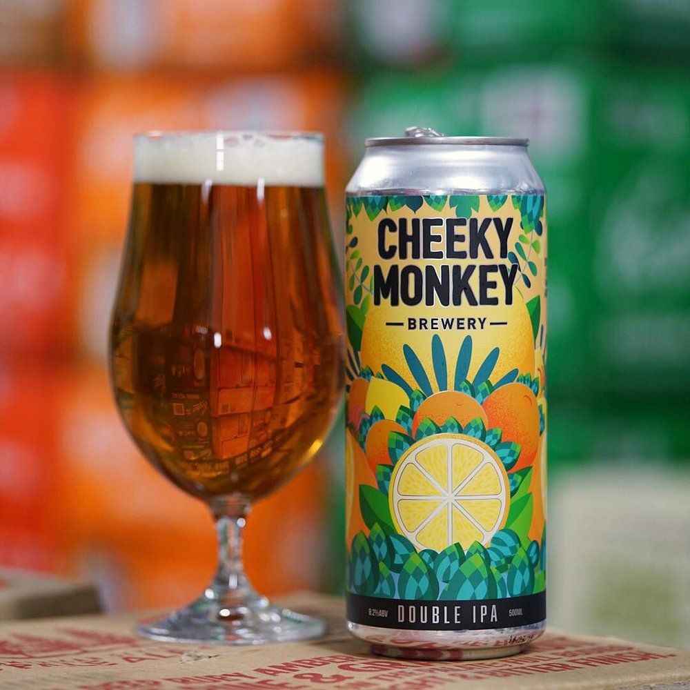Cheeky Monkey Brewery's Double IPA