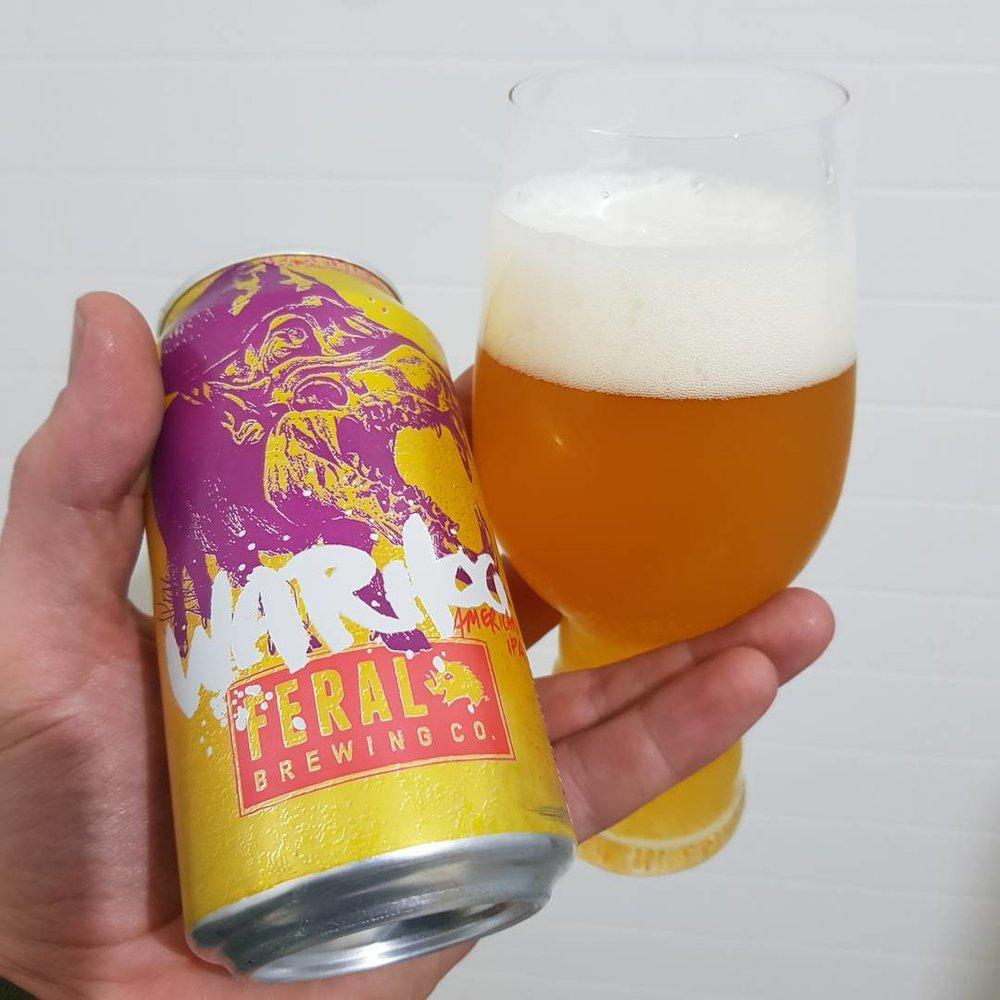 Beer: Feral Brewing Co's War Hog American IPA Source:  I nstarix.