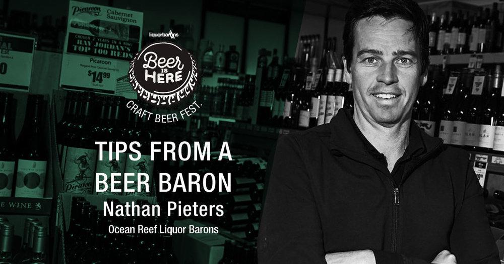 Nathan owns Ocean Reef Liquor Barons.