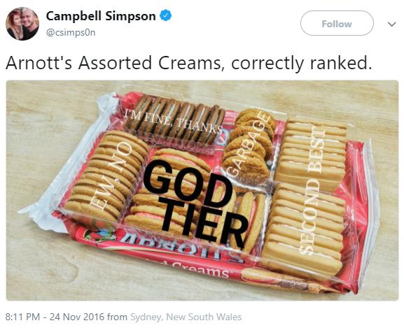 Spot on Campbell, bravo.
