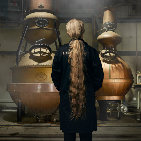 Lesley Gracie; part-alchemist, part-liquid poet, part-scientist and a pioneer of modern gin distilling.