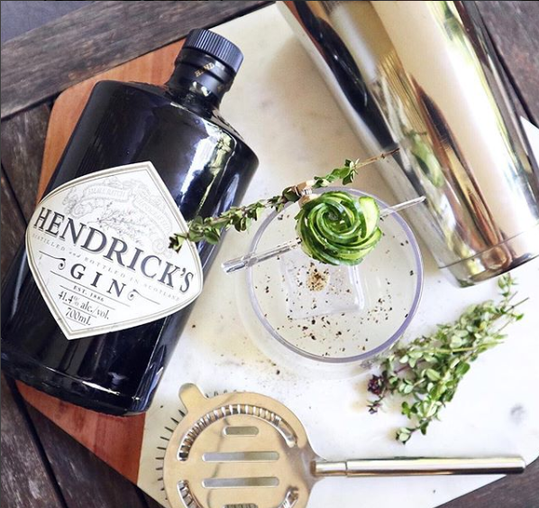 Image from Instagram: @hendricksgin