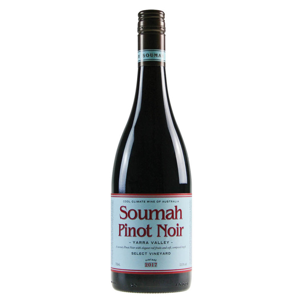 Soumah Select Vineyard, Pinot Noir, Yarra Valley, 2017
