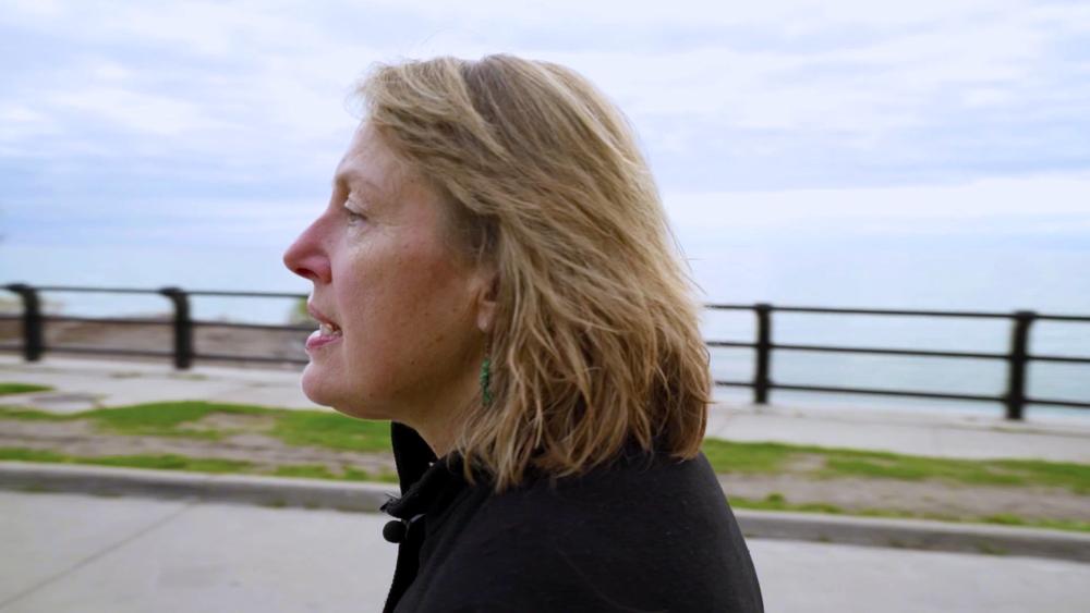 Image from the film  SEL (2017)  director. Mark Korven, poet. Kate Marshall Flaherty