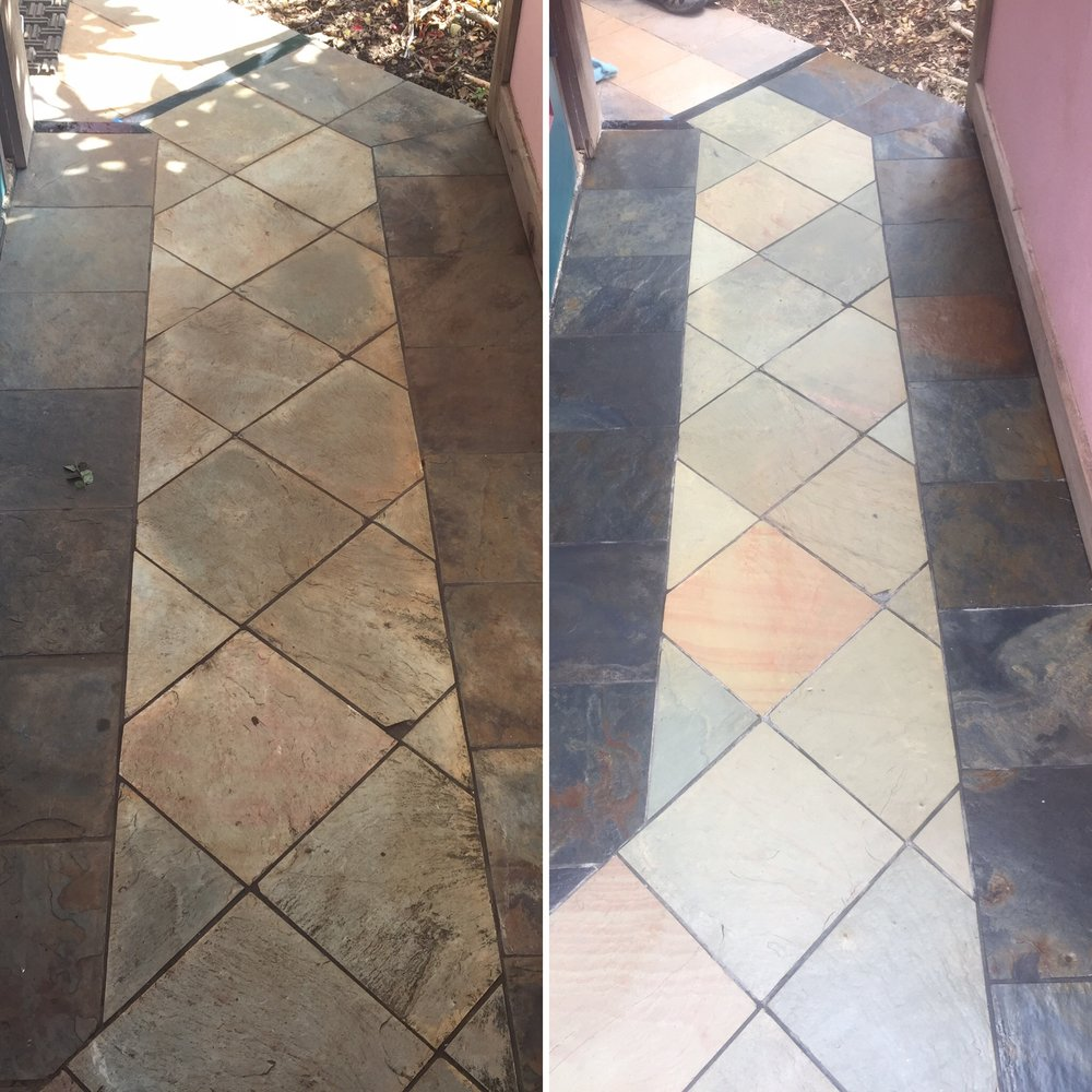 Slate Before & After