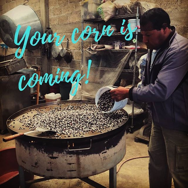 We're extremely excited verbatim we're preparing a ton of pinole for our wonderful followers. You're soon going to find us on... Amazon!  Stay tuned!  #continuethelegacy #bluecorn #ancientfood #tarahumara #running #fuel #energy #food