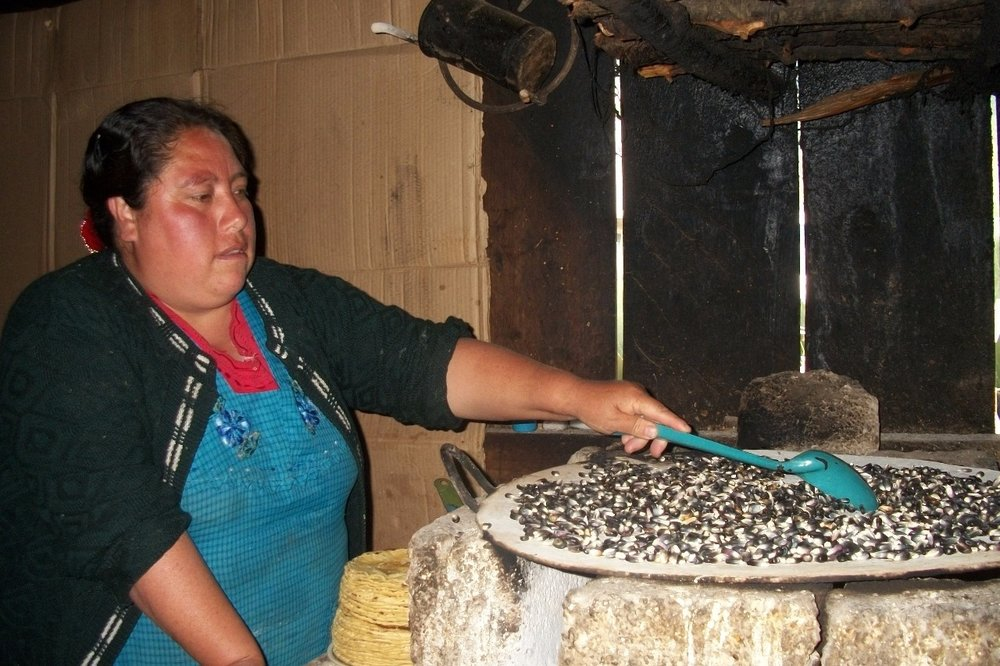 A taste of the past - Pinole was first prepared by the Aztecs. It was the ultimate safety food in times of food shortages as it can last for up to 5 years, whereas dry corn only keeps for up to one year only. It is also easy to carry when traveling long distances. Traditionally, mothers would throw kernels on the comal, the traditional cooking grill, to toast the corn before grinding it with sugar as a sweet treat for their children. This is why pinole reminds so many Mexicans today of warm memories of home with their mothers.