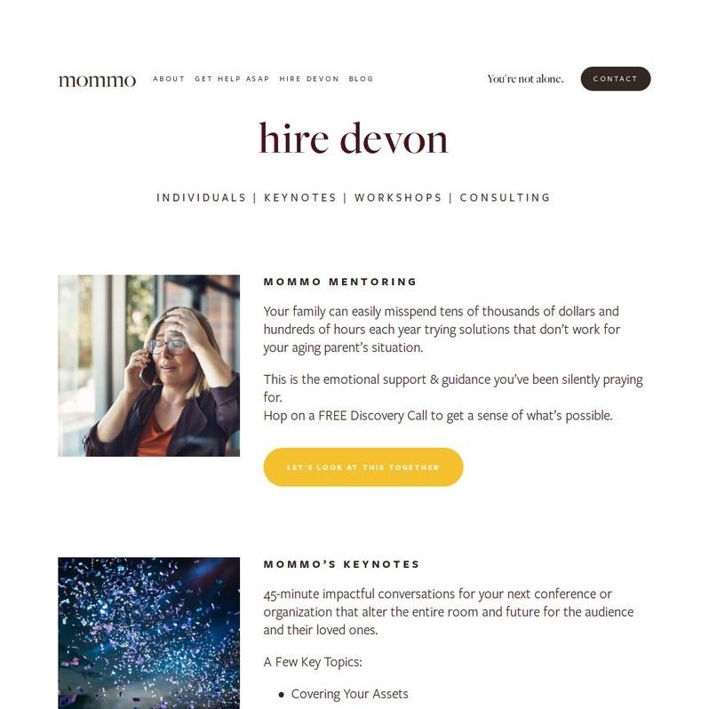 Hire Devon Page