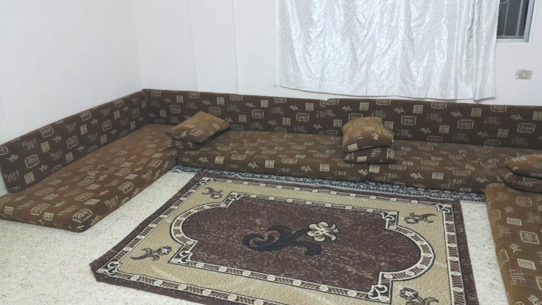 The family's living room, the so-called ghurfa al-julu