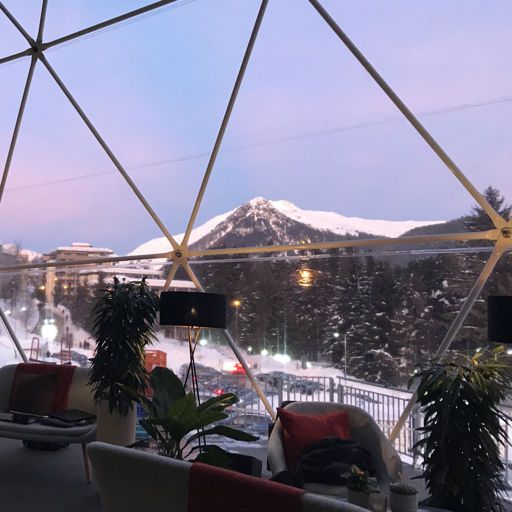 wef davos 2018 - TATA LOUNGEAND PAVILLION
