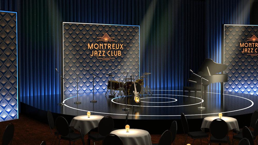MONTREUX JAZZ FESTIVAL 2018 - MONTREUX JAZZCLUB, STAGE