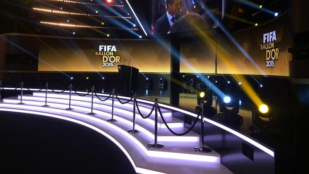 ZÜRICH 2015 - FIFABALLON D'OR