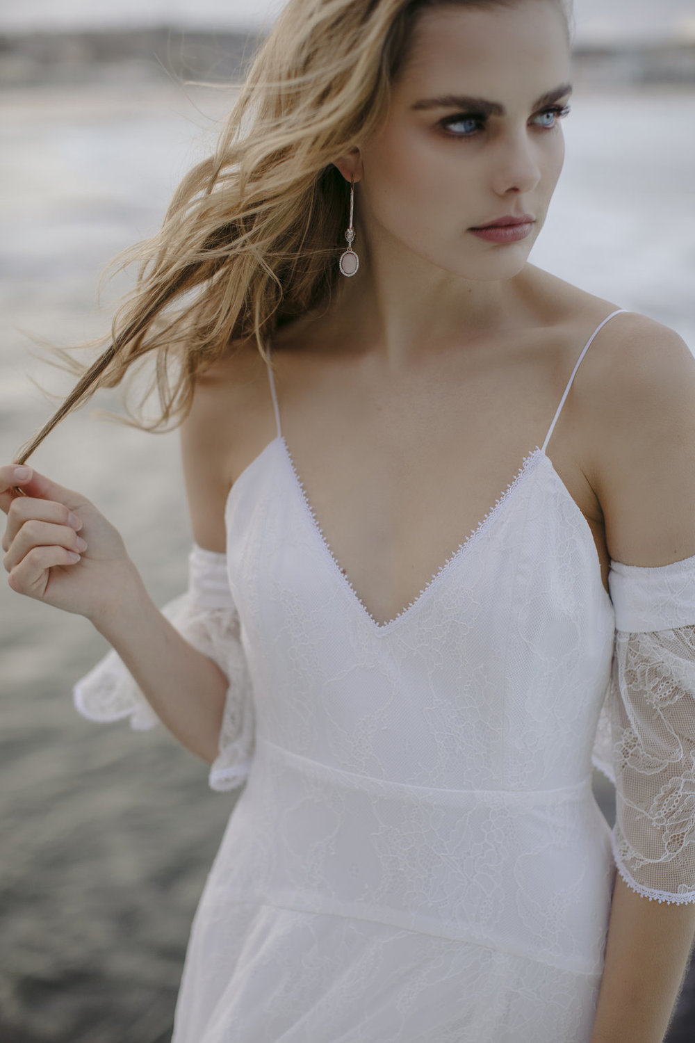 The Lachlan wedding dress by Jackson and Grace with creative direction by LOVE FIND CO. Creative Studio