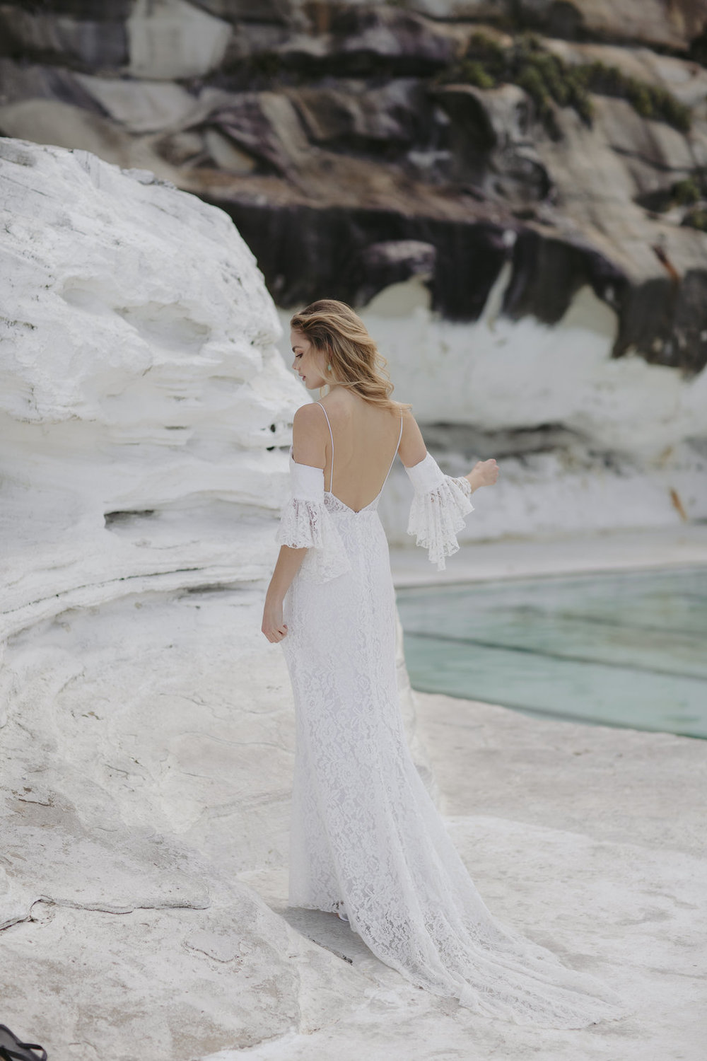 Aria wedding dress by Jackson and Grace with creative direction by LOVE FIND CO. Creative Studio